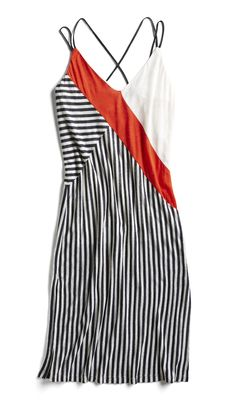 ce0a2ade44674 Stitch Fix Spring Stylist Picks: Striped modern slip dress Stylist Pick,  Stitch Fit,