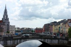 View of the River Lee from Electric, #Cork via glassofwin.com