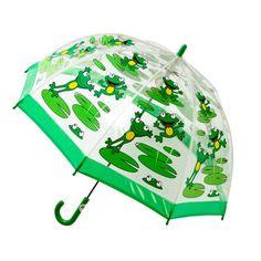 Bugzz Transparante Paraplu met Kikkertjes 12,95