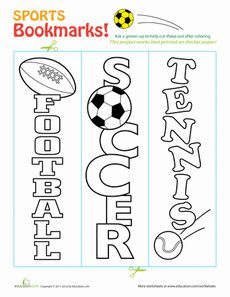 Sports Bookmarks