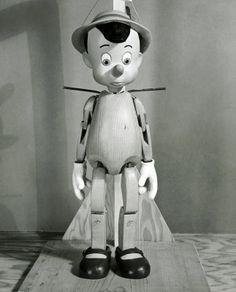 Pinocchio puppet model made by Bob Jones