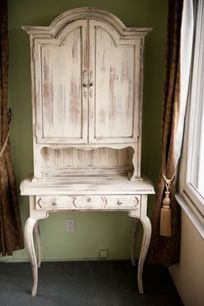Vintage hutch for entryway or dining room- perfect for china storage