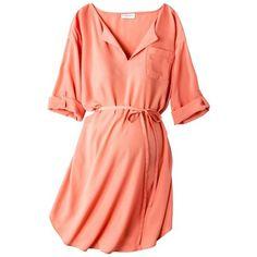 Target : Liz Lange® for Target® Maternity 3/4-Sleeve Tunic Dress - Assorted Colors : Image Zoom