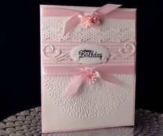 Doily & Lace by jasonw1 - Cards and Paper Crafts at Splitcoaststampers