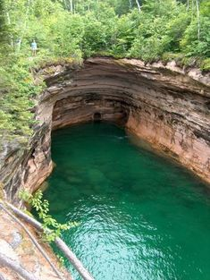 Beautiful cove on Lake Superior