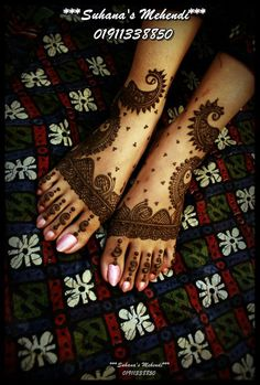 Simple Yet Elegant Mehndi & Henna Designs For Feet Mehendi, Leg Mehndi, Legs Mehndi Design, Foot Henna, Mehndi Tattoo, Henna Tattoo Designs, Bridal Mehndi, Henna Mehndi, Henna Art
