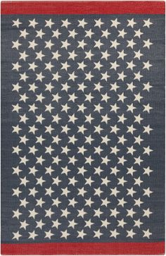 scarborough collection rug from surya gives nod to patriotic past
