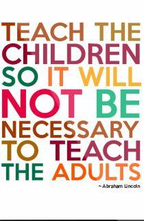 Empowering children.