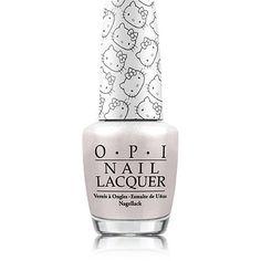 OPIHello Kitty Nail Lacquer Collection - Kitty White