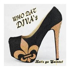 New Orleans Saints Heel