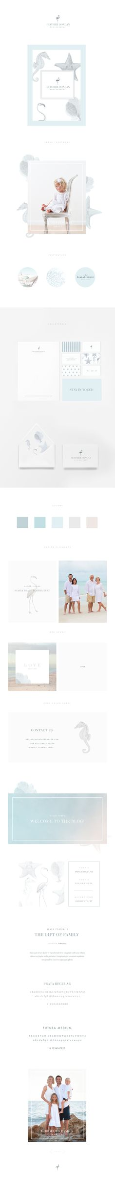 Brand Identity for Heather Donlan Photography. Love Your Art.