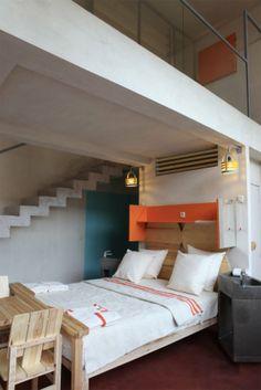 Des chambres simples et confortables