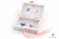 #Caja #anillos #Boda Alvaro y Leticia, tema floral, pintada a mano. www.lolagranado.com