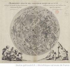 Observation exacte des macules du disque de la lune... / par le P. Chérubin d'Orléans, Capucin -[s.n.]-1671