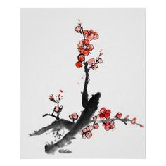 Customizable #Asia #Asian #Beautiful #Beauty #Blossom #Brush #Bush #Calligraphy #China #Chinese #Colorful #Craft #Creativity #Culture #Design #Drawing #Element #Flora #Flower #Graphic #Grunge #Handmade #Illustration #Ink #Isolated #Japan #Japanese #Landscape #Nature #Old#Fashioned #Paint #Pattern #Plant #Plum #Red #Rough #Script #Texture #Textured #Tradition #Traditional #View #Vintage #White Chinese painting of flowers plum blossom poster available WorldWide on http://bit.ly/2hmfKKF