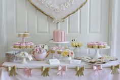 Couture Cupcakes & Cookies: Bridal Shower Cake