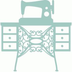 Silhouette Design Store vintage sewing machine  by Jennifer Wambach used in Paper Cut Design from Craft Chatterbox Blog