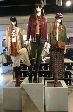 Fashion Mannequin, Display Windows, Junior Fashion, Visual Merchandising, Retail, Punk, Shopping, Style, Women's