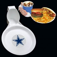 Dallas Cowboys Ultimate Party Plate from TailgateGiant.com