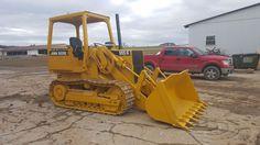 1992 John Deere 555G Crawler Track Loader Diesel Tractor Hydraulic Construction