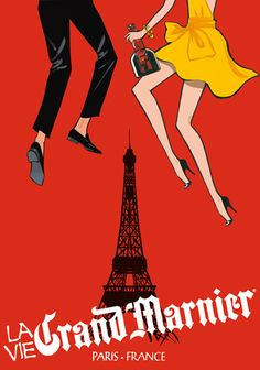 Now this is a party! // GRAND MARNIER by Jordi Labanda via @Behance