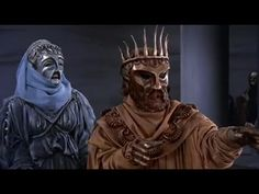 See for chorus staging Filmed by actor/director Sir Tyrone Guthrie, this 1957 version of Sophocles' Oedipus Rex uses masks like the Greeks. (note that the play opens in a plague-ravaged Thebes. Famous Playwrights, Greek Chorus, Drama Education, Teaching Theatre, Greek Tragedy, Classical Period, Theatre Costumes, English Literature, Ancient Greece
