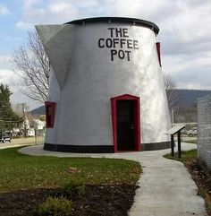 Just about enough. Actually if this is the coffee pot I think it is it is in Bedford PA where I was born, How ironic