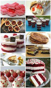 Jenn's Random Scraps: Get Your Canada Day On Jello Cake, Jello Desserts, White Jello, Posters Canada, Canada Day Party, Cheesecake Pops, Making Sweets, Tuesday Recipe, White Cake Pops