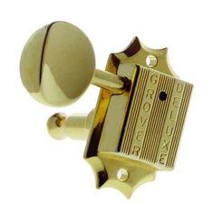 3 Per Side Grover 135N DieCast Vintage Style Nickel Guitar Machine Head Tuners