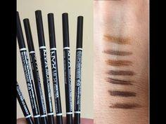 Nyx Micro Brow Pencils In Ash Brown And Espresso I Ve