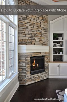 Evolution of Style: How to Update Your Fireplace with Stone