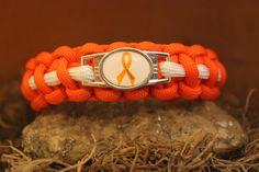 Leukemia Awareness 550 Paracord Bracelet by TrueAmericanParacord