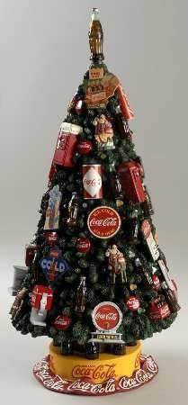 coca cola christmas tree