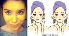 The turmeric mask that eliminates pimples, blackheads, wrinkles, eczema and rejuvenates the skin - Eco Beauty, Beauty Care, Hair Beauty, Beauty Secrets, Beauty Hacks, Natural Beauty Recipes, Green Life, Arts And Entertainment, Ayurveda