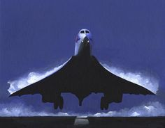 Concorde wing condensation