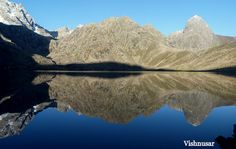 Vishansar - one of the lakes on the great lakes trek in Kashmir, India