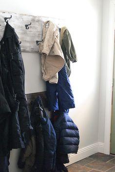 Barnboard Coat Racks | Flickr - Photo Sharing!