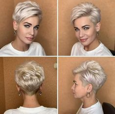 Shortish Haircuts, Edgy Haircuts, Best Short Haircuts, Short Choppy Hair, Very Short Hair, Short Hair Cuts For Women, Short Pixie, Mommy Hairstyles, Pixie Hairstyles