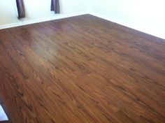 Not bad but a little boring...TrafficMaster Allure 6 in. x 36 in. Teak Resilient Vinyl Plank Flooring (24 sq. ft./case)