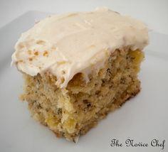 The Novice Chef » Banana Cake