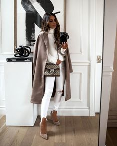 Classy Outfits, Chic Outfits, Trendy Outfits, Fashion Outfits, Womens Fashion, Fashion Trends, Denim Outfits, Fall Winter Outfits, Autumn Winter Fashion