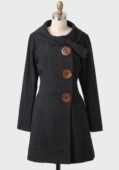 Socialite Bow Detail Coat