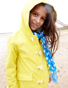 Cute styling for grownups as well  -        Keep the rain at bay in our brand new Mini Boden Fisherman's Jacket