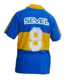 camisetas retro boca juniors batistuta 91