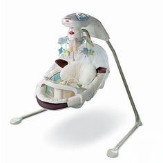 Fisher-Price My Little Lamb Cradle 'N Swing