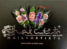 One of the most popular courses of Nail Artists Academy is One stroke ...