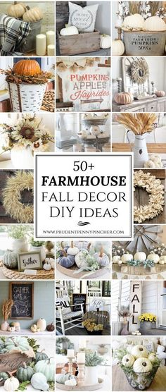 50 Farmhouse Fall Decor Ideas