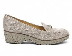 Nora's Shoe Shop : Brunate '31235' wedge loafer -