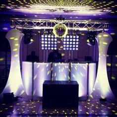 One of our Main DJ setups for weddings!