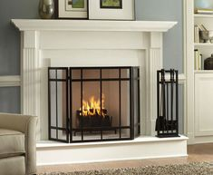 Classic Look Fireplace